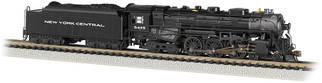53654 N Scale Bachmann New York Central #5445(Later, Gothic Lettering)  4-6-4 Hudson