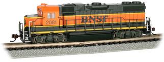 66851 N Scale Bachmann BNSF #2081-H1 Scheme w/Dynamic Brakes