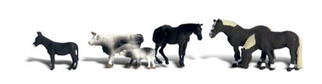 A2142 Woodland Scenics N Scale Scenic Accents(R) Animal Figures Farm Animals