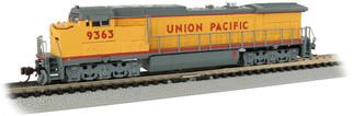 67351 N Scale Bachmann Union Pacific #9363-GE Dash 8-40CW DCC ECONAMI Sound Value