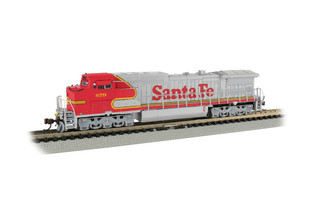 67352 N Scale Bachmann Santa Fe #879-GE Dash 8-40CW DCC ECONAMI Sound Value