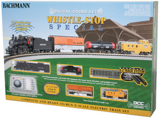 24133 N Scale Bachmann Whistle-Stop Special w/Digital Sound