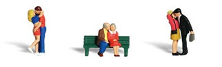 A2133 Woodland Scenics N Scale Scenic Accents(R) Figures Lovers