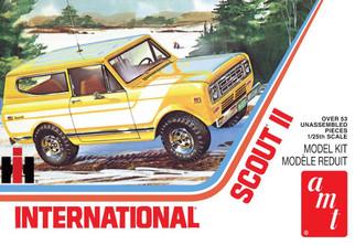 AMT1248 AMT 1977 International Scout II 1/25 Scale Plastic Model Kit
