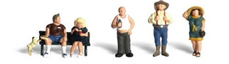 A2130 Woodland Scenics N Scale Scenic Accents(R) Figures Full Figured Folks