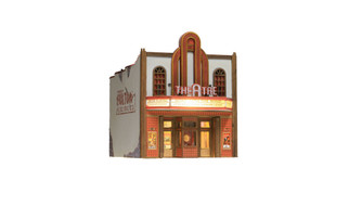 BR4944 N Scale Woodland Scenics Theater