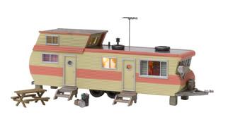 BR4951 N Scale Woodland Scenics Double Decker Trailer