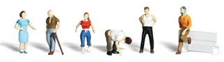 A2124 Woodland Scenics N Scale Scenic Accents(R) Figures Ordinary People
