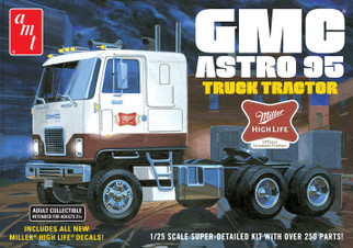AMT1230 AMT GMC Astro 95 Truck Tractor 1/25 Scale Plastic Model Kit