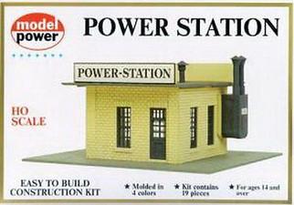 443 HO Scale Model Power Power Station Kit