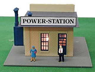 580 HO Scale Model Power Power Station Built Up
