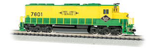 66456 N Scale Bachmann Reading #7601 SD45 DCC Sound Value