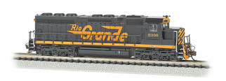 66453 N Scale Bachmann Rio Grande #5336(Large Flying Grande) SD45 DCC Sound Value