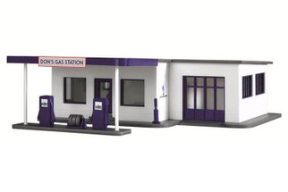 787 HO Scale Model Power Don's Gas Station Built Up
