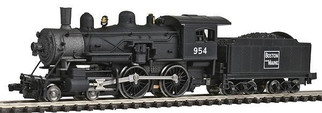 87622 N Scale Model Power B&M 4-4-0 American