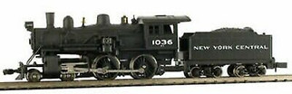 876301 N Scale Model Power NYC 4-4-0 American DCC & Sound Equipped