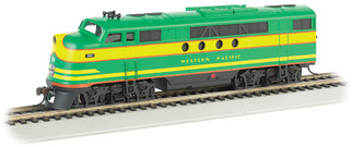 68915 HO Scale Bachmann Western Pacific (Green & Yellow) EMD FT-A