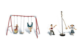 A1943 HO Woodland Scenics Playground Fun