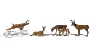 A1884 Woodland Scenics HO Deer