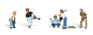 A1869 Woodland Scenics HO Baseball Players I