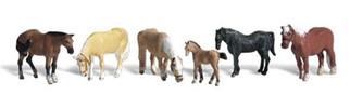 A1862 Woodland Scenics HO Farm Horses