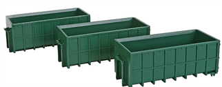949-4100 Walthers SceneMaster(R) Large Dumpsters-Assembled