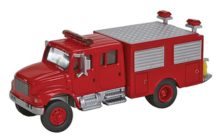949-11893 HO Walthers SceneMaster(TM) International 4900 First Response Fire Truck
