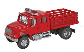 949-11892 HO Walthers SceneMaster(TM) International 4900 Fire Department Utility Truck