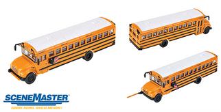 949-11701 HO Walthers SceneMaster International CE School Bus