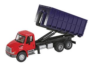 949-11630 HO Walthers SceneMaster(TM) International 4300 Dual-Axle Dumpster Carrier Truck