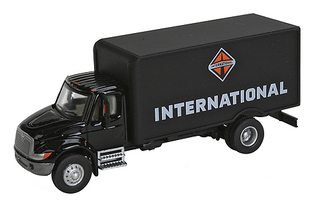 949-11292 HO Walthers SceneMaster(TM) International 4300 Single-Axle Box Van Delivery Truck-Assembled