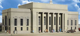 933-3257 Walthers Cornerstone N Scale Cornerstone Series(R) Plastic Kits Union Station