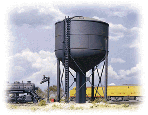933-3043 HO Walthers Cornerstone(R) Steel Water Tower Kit