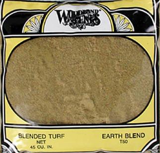 T50 Woodland Scenics Blended Turf Earth 30 oz