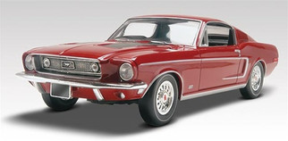 85-4215 Revell 1/25 '68 Mustang GT 2 'n 1 Plastic Model Kit