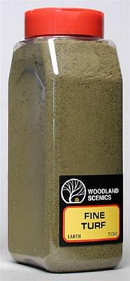 T1342 Woodland Scenics  Fine Turf Earth 32 oz