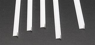 """90506 Plastruct Inc Angle Styrene 1/4"""" x 24"""""""