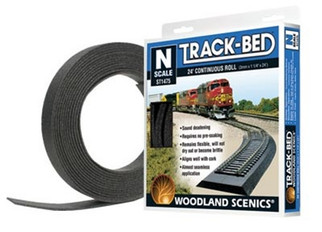 ST-1475 Woodland Scenics N Scale Track-Bed Roll