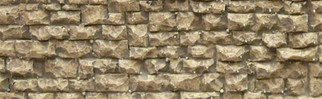 8250 HO/N Chooch Enterprises-Small Random Stone Wall