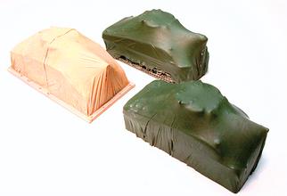 7256 HO Chooch Enterprises Covered Army Tanks