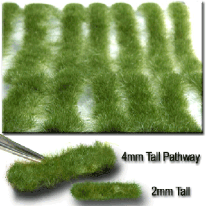 718-22 N/HO Miniatur Stripes of Grass-Short Summer
