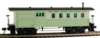 717110 HO Mantua Classics Wooden Passenger Car-NYC & Hudson 1860 Combine