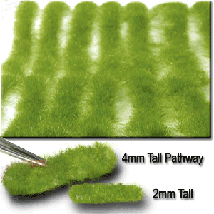 718-21 N/HO Miniatur Stripes of Grass-Short Spring
