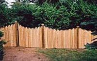708 Branchline HO Laser Art Fence Kit-HO Gauge Fence for Model Train Layout