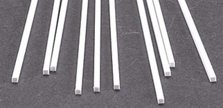 90770 Plastruct Square Rod Styrene .100""