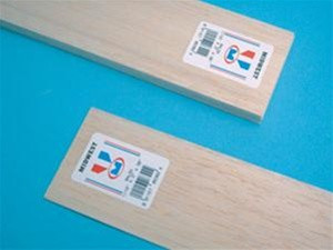"""6406 Midwest Products Balsa Wood 1/4"""" x 4"""" x 36"""""""
