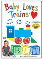 63552 TM Books DVD Baby Loves Trains