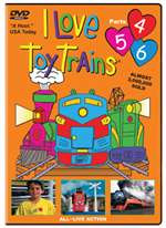 63173 TM Books DVD I Love Toy Trains Parts 4-5-6