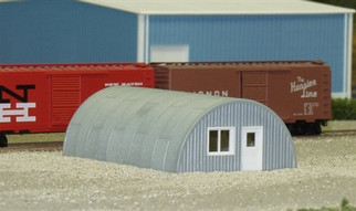 628-0710 Rix Products N Scale Quonset Hut