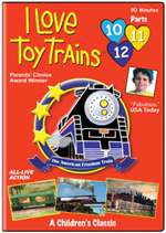 63353 TM Books DVD I Love Toy Trains Parts 10-11-12
